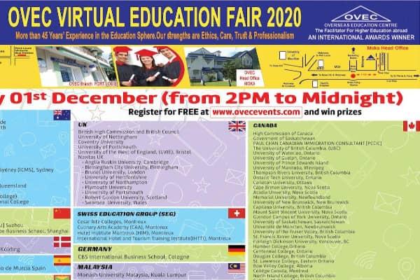 OVEC Virtual Fair 1st Dec 2020