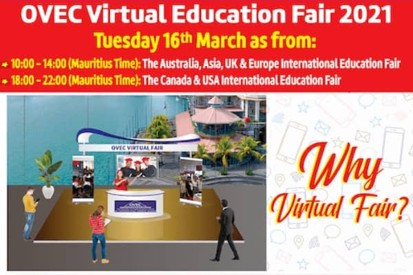 OVEC Virtual Fair Tuesday March 16th 2021