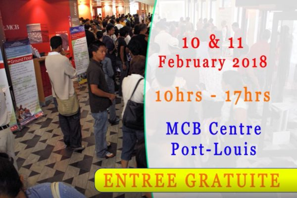 Upcoming Education Fair Feb 10-11th 2018 – DO NOT MISS OUT!